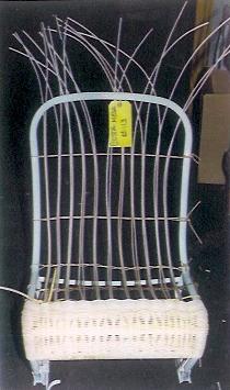 Fiat Jolly Seats weave